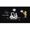 WTX叉车防撞系统 卸货防撞系统 货车卸货防撞系统