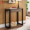 美式玄关桌现代简约玄关台供桌供台玄关柜置物架