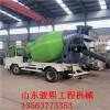 2方混凝土运输车 水泥 砂浆运输搅拌罐 小型建筑工地专用车