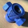液体流量观测阀-水流指示器-内件有浮球/叶轮可选