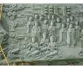 精巧别致的壁画供应-白银浮雕
