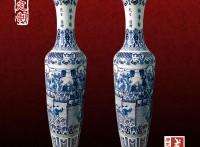 景德镇3米陶瓷大花瓶定做厂家,手绘陶瓷大花瓶