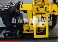 山东鲁探机械HZ-130Y液压勘探钻机 全自动地质钻探机