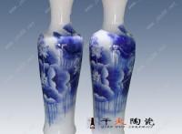 手繪高檔禮品陶瓷大花瓶批發廠家