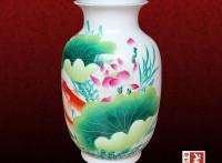 纪念礼品陶瓷小花瓶厂家,定做小花瓶规格