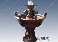 景德镇景德镇陶瓷鱼缸批发价格 带过滤鱼缸 加湿器摆件缸
