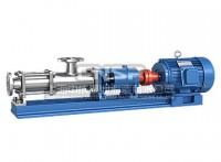 螺杆泵_污泥螺杆泵_G型单螺杆泵_中成泵业