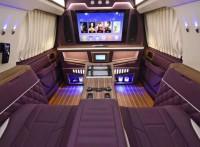 彰顯華貴紫的林肯內飾改裝