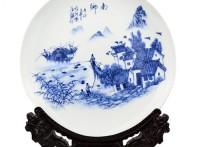 批量定做陶瓷纪念礼品,景德镇陶瓷纪念盘子批发厂
