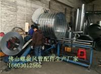 广州长期供应螺旋风管,螺旋配件厂家