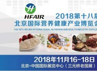 2018第十八届北京国际营养健康产业博览会