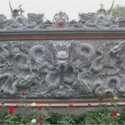 兰州浮雕 精雕细琢的壁画