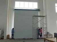 上海普通消音卷帘门 铝合金型材卷帘门 厂房抗风门制作安装