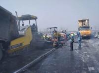 成都瀝青路面施工 成都水穩層施工 成都微表處封層施工