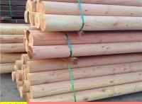 花旗松圆木棍,中国古建筑柱子
