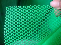养殖鸡、鸭 pvc 塑料平网 颜色齐全