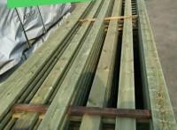 厂家热销(欧洲)芬兰木花池外侧板条木材加工定尺
