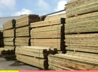厂家批发加工防腐木条 松木条 户外防腐木地板定做规格