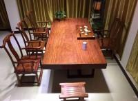 木材加工厂定做:巴西花梨木大板,实木家具,进口巴花板材