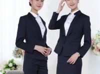 株洲職業套裝女套裙兩件套商務定制來樣加工