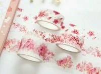 厂家专业来图定制樱花瓣儿和纸胶带,可来图定制