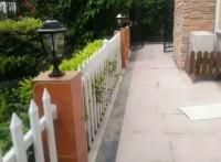 成都双流华阳别墅塑钢围墙栏杆