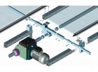 奥农苑温室遮阳网拉幕驱动系统