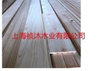 桧木防腐木,户外防腐木地板,桧木车圆木柱加工定做