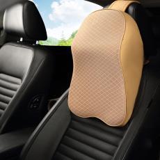 新款汽车头枕车用记忆棉靠枕 厂家批发 汽车车载枕靠肩靠护颈枕