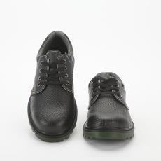 厂家直销压花牛皮劳保鞋防砸防刺穿钢包头安全鞋防护鞋绝缘鞋