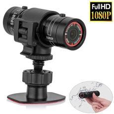 1080P户外摄影机户外山地自行车骑行头盔摄像机 F9运动相机防水DV