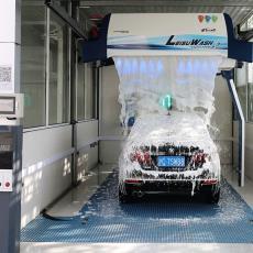 镭速360P全智能无接触自动洗护一体洗车全自动洗车机加油站专用