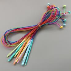 毛衣针编织工具ABS塑料阿富汗地毯钩针长度120CM要12支装袋