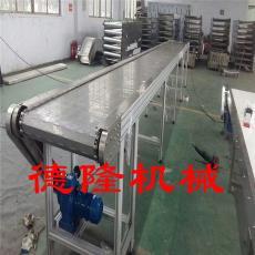 爬坡板链输送机无动力滚筒转弯机废料链板输送机平行链板线