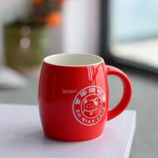 广告创意礼品马克杯 厂家直销供应酒桶形水杯 办公杯 现代家居