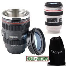第六代镜头杯Canon24-105 创意个性水杯家居用品 不锈钢内胆