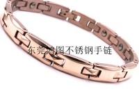 東莞鴻圖時尚不銹鋼手鏈