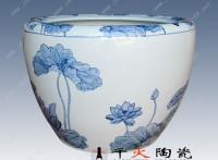 陶瓷缸生产厂家 养荷花养鱼陶瓷大缸
