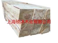 苏州加工厂批发落叶松枕木 多种规格可定做