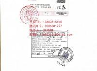 办理清关检测证书,埃及使馆认证签字,埃及领事馆认证加签