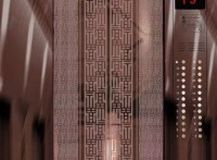 佛山市宣宸玫瑰金不锈钢电梯板