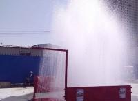 合肥市上派镇工地一般用的洗车机运输车辆用自动洗车机