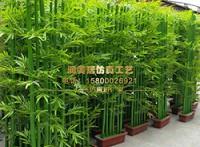 天然仿真竹子室内装饰景观树造景防腐竹子