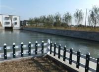 成都广元塑钢PVC围墙栏杆,草坪花草护栏