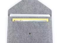 厂家热销毛毡文件袋 创意商务办公文件资料毛毡A4收纳袋