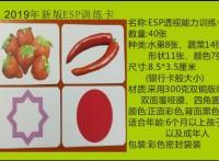 七田真右脑开发ESP透视能力训练卡魔术-七田真ESP卡