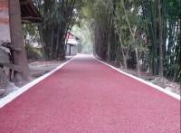 上海彩色*透水地坪的施工流程