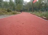 苏州幼儿园彩色透水环保地坪的做法