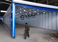 机械厂环保喷漆房 漆味净化设备 喷漆柜 干式喷漆房
