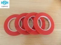 耐高温红美纹胶带 PET复合硅胶美纹胶代 PCB电镀胶带